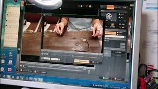 楽天やネットショップで使える動画が出来るまでの様子を肉声でご紹介しています。Part2-動画ファイルをアップロード形式用(WMV)に変換まで。