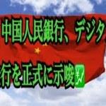 【仮想通貨】リップル最新情報❗️速報‼️中国人民銀行、デジタル人民元の発行を正式に示唆💹