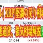 【仮想通貨】リップル最新情報‼️リップル XRP急騰❣️の戻り相場、どうなる仮想通貨、強気相場解説💹