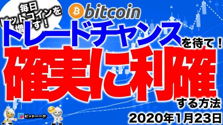 【ビットコイン今日の値動き】8585ドルからのロング炸裂!確実に利確する方法【2020年1月23日】BTC、ビットコイン、XRP、リップル、仮想通貨、暗号資産、トレード分析