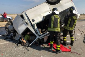 ITALY-ACCIDENT-ROAD-MIGRATION