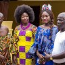 Miss Commonwealth Ghana Princess Duncan visits Swedru and Cape Coast Chiefs (3)
