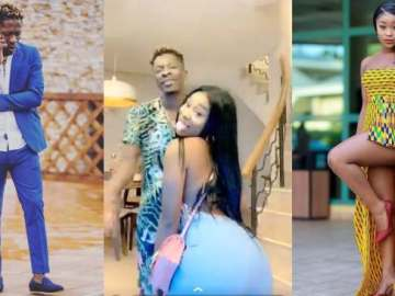 Shatta Wale caught in bed with Efia Odo