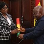 Martin Amidu's deputy Cynthia Lamptey takes office