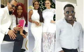 Video: Ramsey Nouah, Yvonne Nelson, others attend John Dumelo's wedding