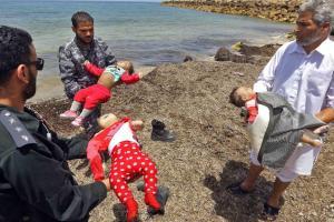3 babies among 100 dead off Libya 2