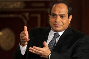 Egyptian President, 'Abdel-Fattah Al-Sisi