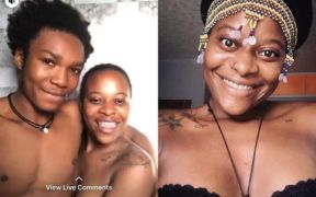 MTV Shuga actress Helena Nelson goes nude in Facebook live video
