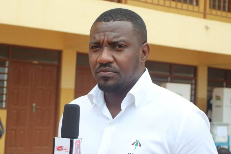 John Dumelo is NDC Parliamentary Candidate