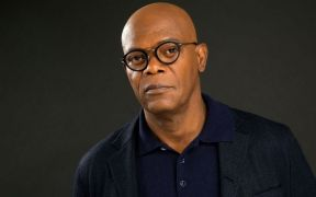 Actor Samuel L. Jackson shoots documentary on slavery in Ghana