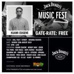 Wendy Shay, Kuami Eugene, Yaa Pono, Others for Jack Daniel's Music Fest