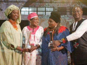 Ebo Taylor and Bibie Brew Honored at #ACCES2019 music conference