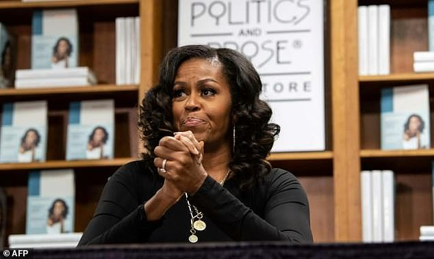 Michelle Obama wins Grammy Award for 'Becoming' audio book