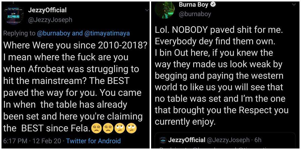 Burna Boy Afrobeats