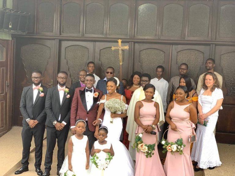 Gospel Singer Noble Nketia weds longtime girlfriend