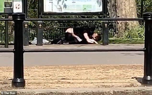 couple sex buckingham palace lockdown