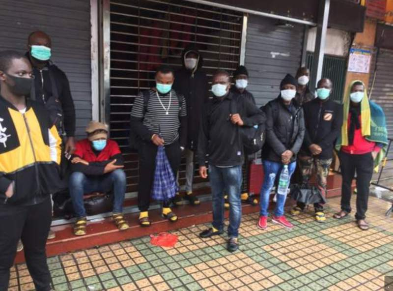 China denies maltreating Africans after landlords rendered many homeless