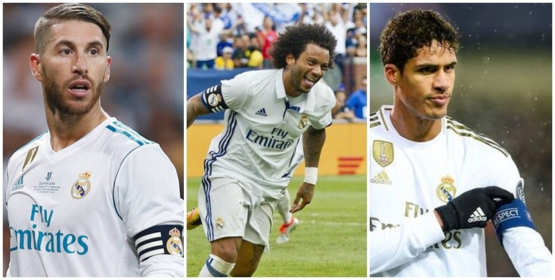 3 Real Madrid captains against Sociedad