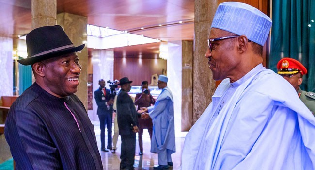 Buhari Names Railway Station After Goodluck Jonathan