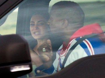 Kim Kardashian Breaks Down As She Reunites With Kanye West