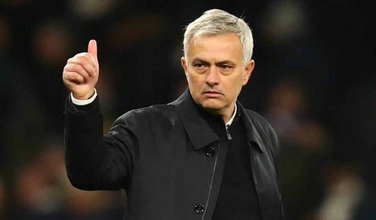 Mourinho targets 3rd Europa League title with Spurs next season