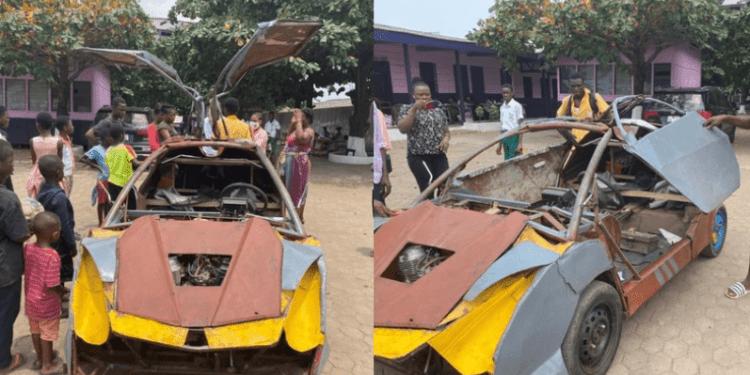 Kelvin Odartei from Ghana builds his own Car