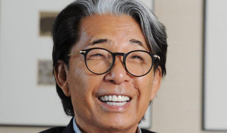 Kenzo Takada: Japanese fashion designer dies from COVID19