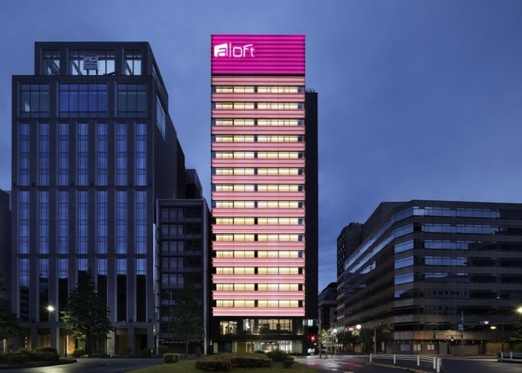 Aloft Hotel in Japan