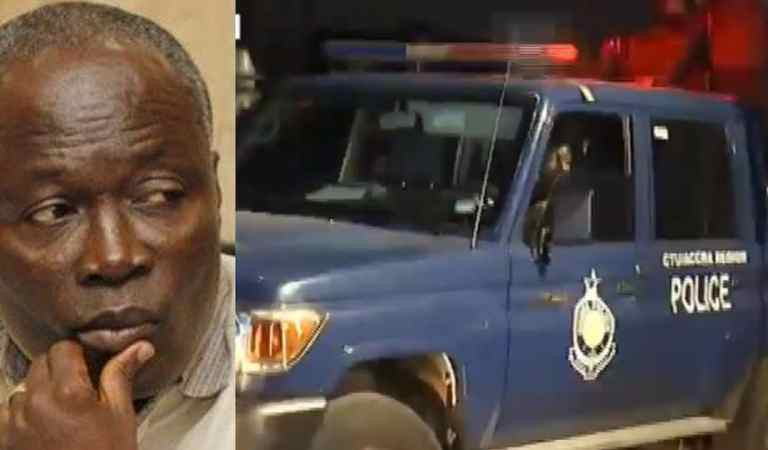 Nii Lante Vanderpuye arrested over shooting incident at Odododiodio