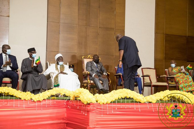 Nana Akufo-Addo, Bawumia sworn into office