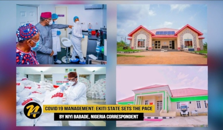 Covid-19 Management: Ekiti State in Nigeria Sets the Pace