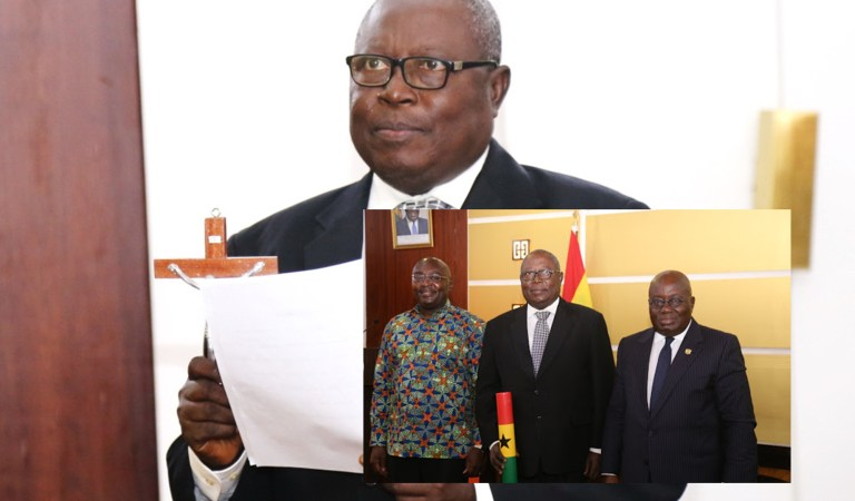 Akufo-Addo compromising NDC MPs with double salary case – Martin Amidu