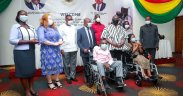 World Bank donates wheelchairs
