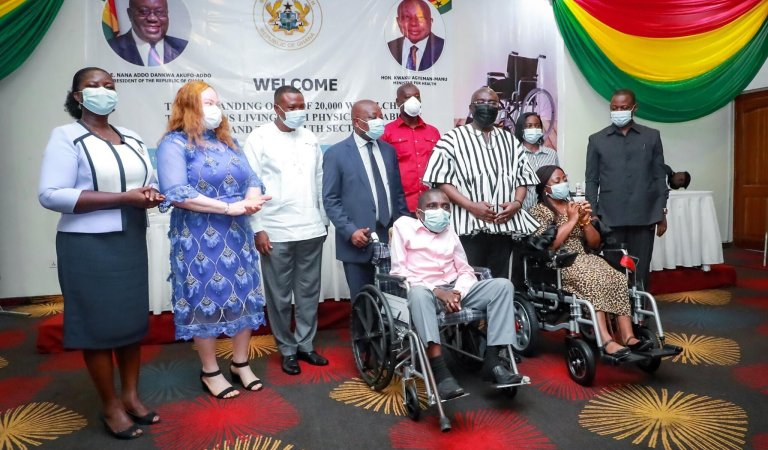 World Bank Donates 20 Thousand Wheelchairs to Disabilities in Ghana