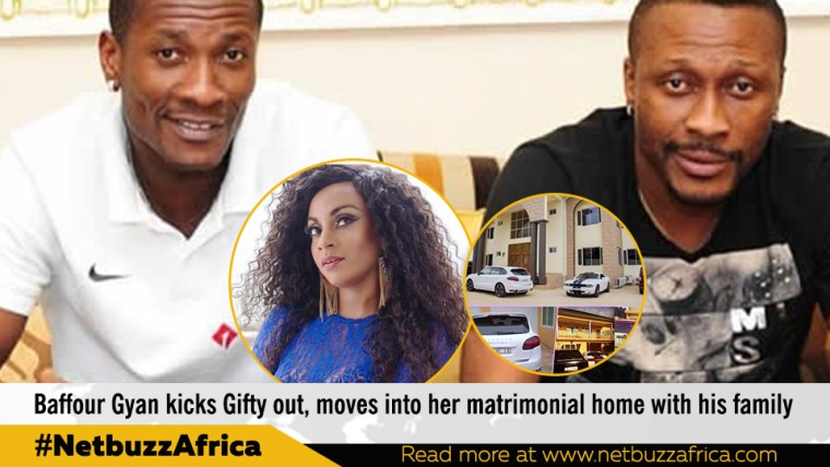 Asamoah Gyan's secret child in Italy, new'wife' and more DNA tests revealed