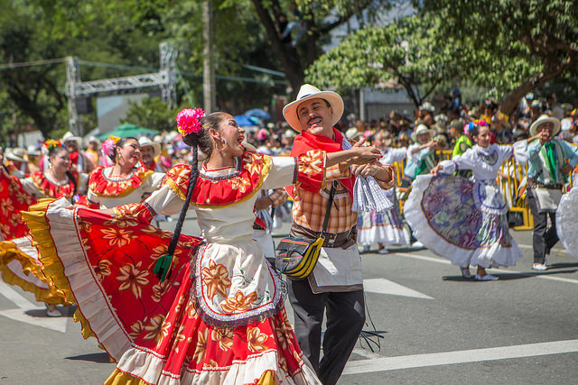 Colombia wraps annual famed flower festival in Medellin