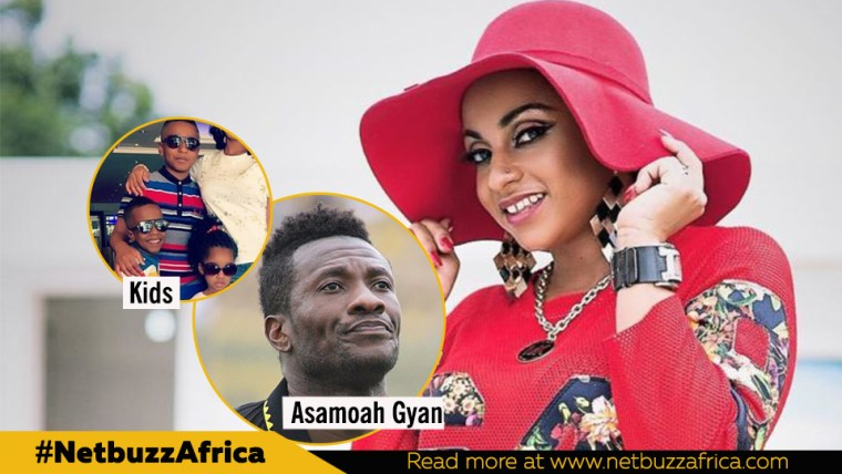 Asamoah Gyan's wife has another husband in Italy - Radio panelist claims