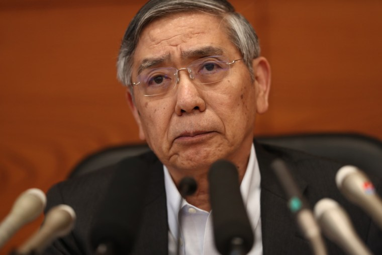 Japan central bank chief Kuroda says no rate hike for'long time'