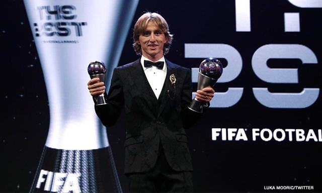 Luka Modric beats Ronaldo, Salah to FIFA The Best award