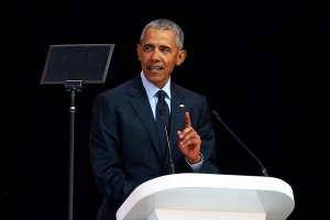 Obama warns of 'strange and uncertain times'