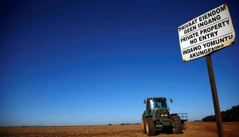 South Africa withdraws land expropriation bill passed in 2016