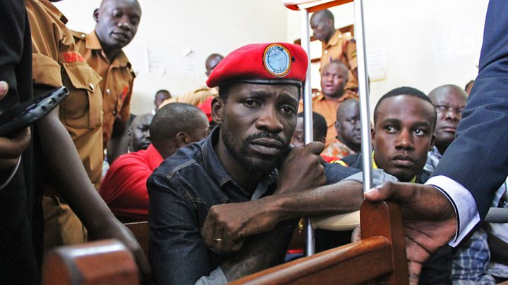 Uganda's pop star MP Bobi Wine