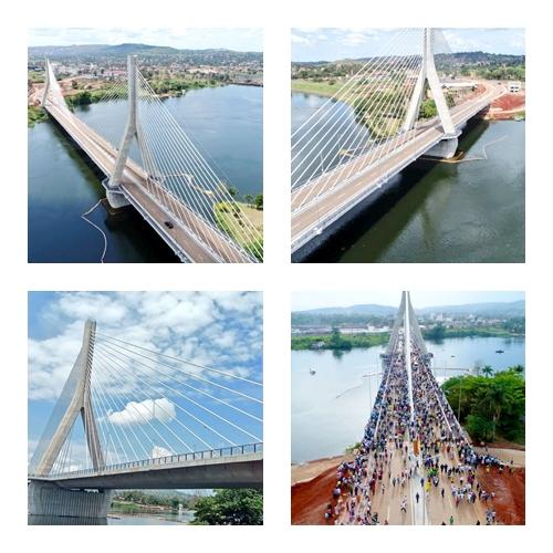 Uganda President commissions iconic bridge across the Nile 0