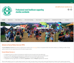 Festival Medical Services (portfolio: web design & web development)
