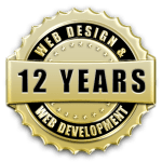 Over a decade of web design & development experience