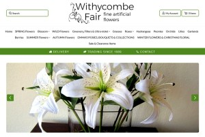 Withycombe Fair artificial flowers