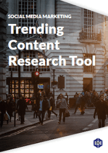 Trending Content research in your SMM dashboard for social media marketing