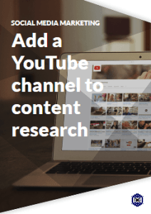 How to add a YouTube channel for content research