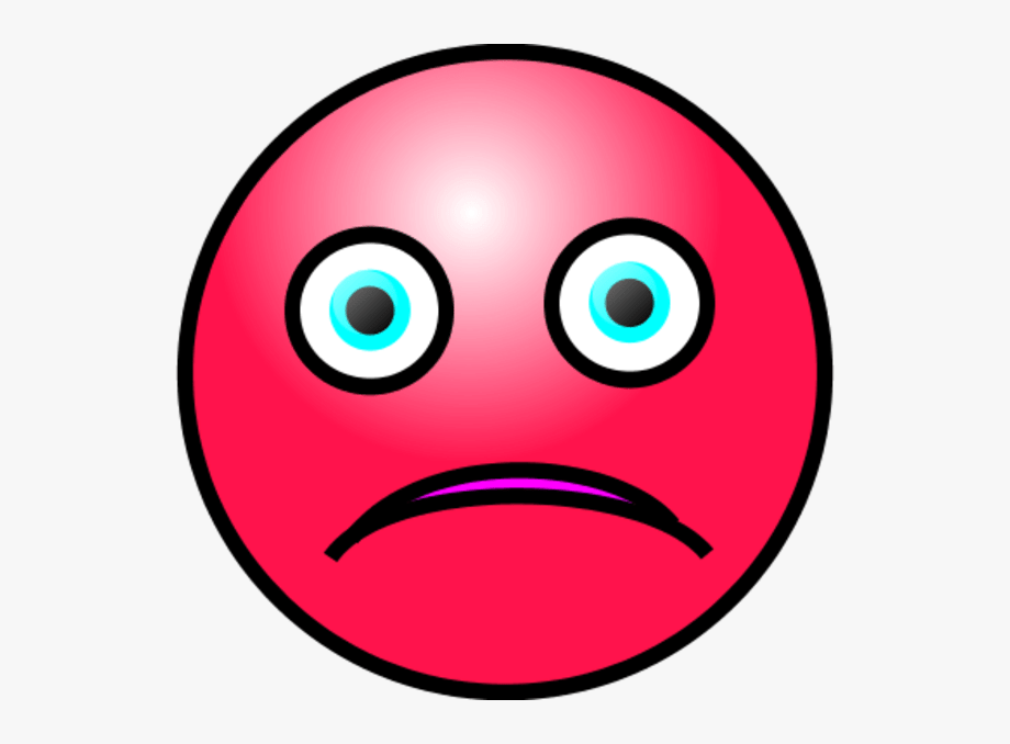 Face Crying Clipart