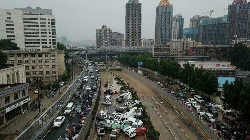 Inondations en Chine: des doutes sur le nombre réel de morts à Zhengzhou